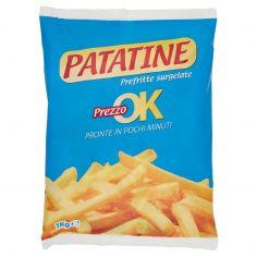 PREZZO OK-Patatine Prefritte surgelate Prezzo ok 1 kg