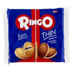 RINGO-Pavesi Ringo Thin Vaniglia 234g