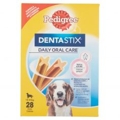 DENTASTIX-Pedigree DentaStix Daily Oral Care* 10-25 kg 28 Pezzi 4 x 180 g