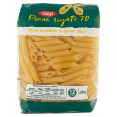 Coop-Penne rigate 70 500 g
