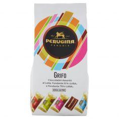GRIFO-PERUGINA GRIFO Cioccolatini assortiti al latte, fondente e fondente 70% sacchetto 200g