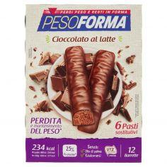 PESOFORMA-Pesoforma Cioccolato al latte 12 x 31 g