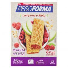 PESOFORMA-Pesoforma Lampone e Mela 12 x 45 g