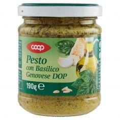 Coop-Pesto con Basilico Genovese DOP 190 g