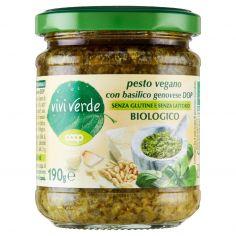 Coop-pesto vegano con basilico genovese DOP Biologico 190 g