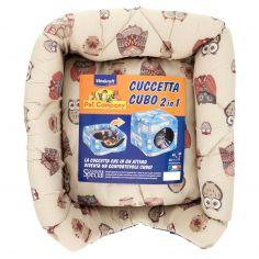 VITAKRAFT-Pet Company Comfort Special Cuccetta Cubo 2 in 1