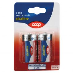 Coop-Pile mezza torcia alcaline