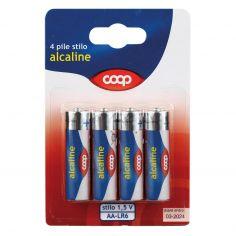 Coop-Pile stilo alcaline