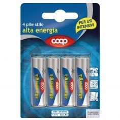 Coop-Pile stilo alta energia