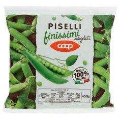 Coop-Piselli finissimi surgelati 450 g
