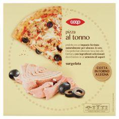 Coop-pizza al tonno surgelata 370 g