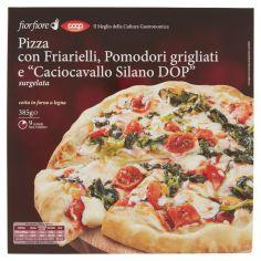 """Coop-Pizza con Friarielli, Pomodori grigliati e """"Caciocavallo Silano DOP"""" surgelata 385 g"""