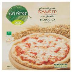 Coop-pizza di grano Kamut margherita Biologica surgelata 340 g