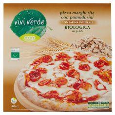 Coop-pizza margherita con pomodorini con Farina Integrale Biologica surgelata 350 g