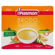 PLASMON-Plasmon Brodo di Verdure Preparato Disidratato 10 x 8 g