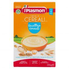 PLASMON-Plasmon Crema di Cereali quattro cereali 230 g