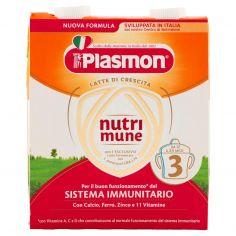 PLASMON-Plasmonnutrimune 3 Latte di Crescita 2 x 500 ml