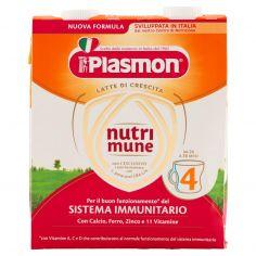 PLASMON-Plasmon nutrimune 4 Latte di Crescita 2 x 500 ml