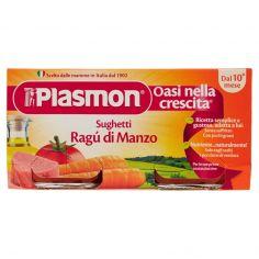 PLASMON-Plasmon Sughetti Ragù di Manzo 2 x 80 g