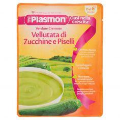 PLASMON-Plasmon Verdure Cremose Vellutata di Zucchine e Piselli 180 g