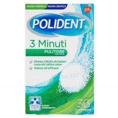 POLIDENT-Polident 3 Minuti Pulitore per protesi 36 compresse