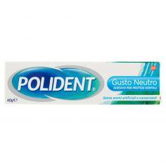 POLIDENT-Polident Gusto Neutro Adesivo per Protesi Dentali 40 g