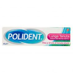 POLIDENT-Polident Lunga Tenuta Adesivo per Protesi Dentali 40 g
