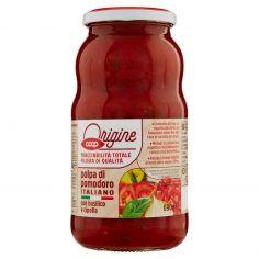 Coop-polpa di pomodoro Italiano con basilico e cipolla 690 g