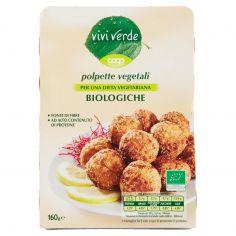 Coop-polpette vegetali Biologiche 10 x 16 g