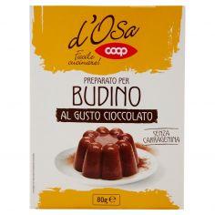 Coop-Preparato per Budino al Gusto Cioccolato 80 g