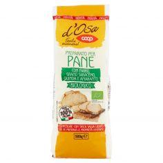 Coop-Preparato per Pane con Farro, Grano Saraceno, Quinoa e Amaranto Biologico 500 g