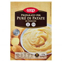 Coop-Preparato per Puré di Patate in Fiocchi 3 x 75 g