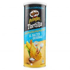 PRINGLES-Pringles Tortilla El Salted Original 160 g