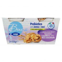 Coop-Probiotico con avena e noci 2 x 125 g