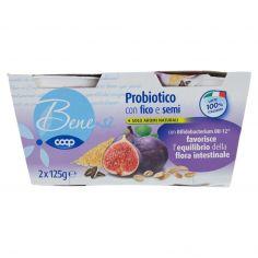 Coop-Probiotico con fichi e semi 2 x 125 g