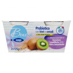 Coop-Probiotico con kiwi e cereali 2 x 125 g