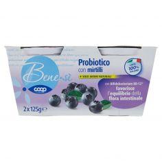 Coop-Probiotico con mirtilli 2 x 125 g