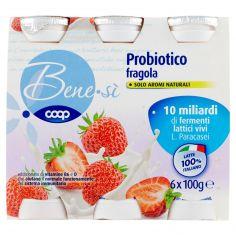 Coop-Probiotico fragola 6 x 100 g