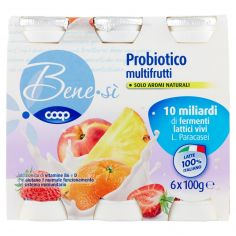 Coop-Probiotico multifrutti 6 x 100 g