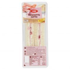 Coop-Prosciutto Cotto 2 Tramezzini 150 g
