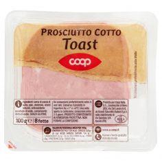 Coop-Prosciutto Cotto Toast 8 fette 100 g