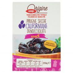 Coop-Prugne Secche Californiane Denocciolate 250 g