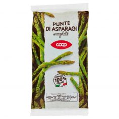 Coop-Punte di Asparagi surgelate 300 g