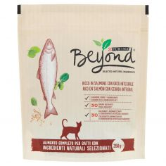 BEYOND-PURINA BEYOND Secco Gatto Salmone 350g
