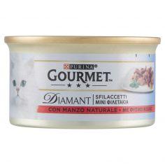 DIAMANT-PURINA GOURMET Diamant Gatto Sfilaccetti con Manzo Naturale lattina 85g