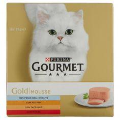 GOLD-PURINA GOURMET Gold Gatto Mousse lattina 8x85g