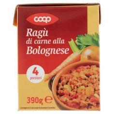 Coop-Ragù di carne alla Bolognese 390 g
