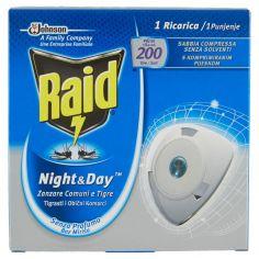 RAID-Raid Night & Day Zanzare Tigre e Comuni 1 Ricarica