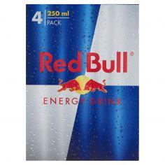 RED BULL-Red Bull Energy Drink 4 x 250 ml lattina