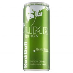 RED BULL-Red Bull Lime Edition Energy Drink 250 ml